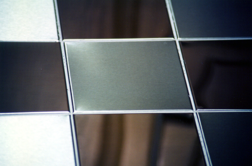 Metal Tiles and Mosaics